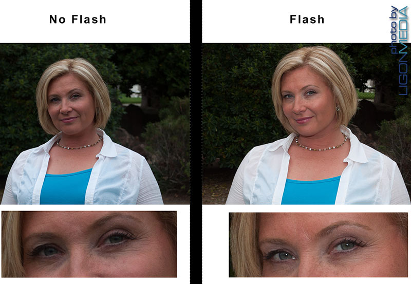 PHOTOGRAPHY: SHOULD YOU USE A FLASH OUTSIDE? YES.