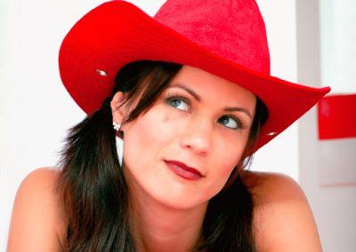 Model: Lucinda Chrisman