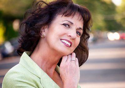 Model: Linda Henry